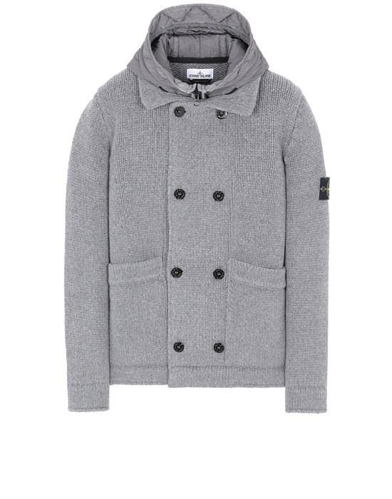 STONE ISLAND 557B8 Sweater Man Grey