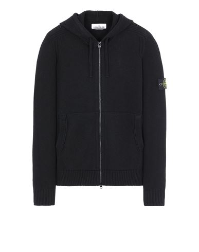STONE ISLAND 501A3 Sweater Man Black EUR 385