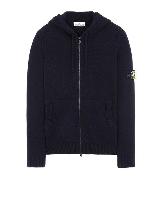 STONE ISLAND 501A3 Sweater Man Blue