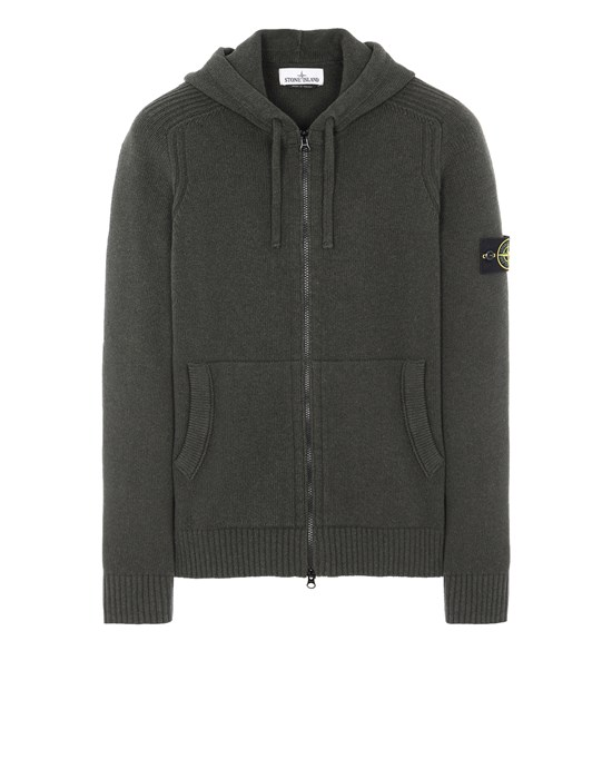 STONE ISLAND 501A3 Sweater Man Musk Green
