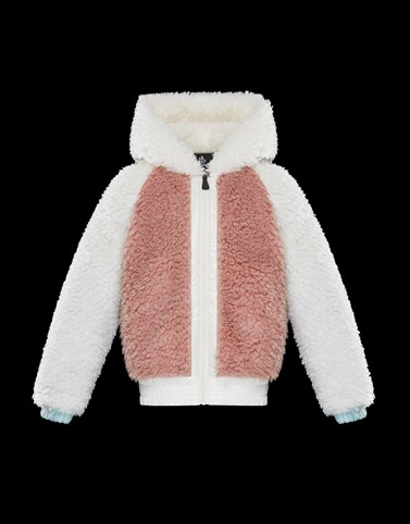 HOODED JUMPER Blush Pink Grenoble_kids-4-6-years-girl Woman
