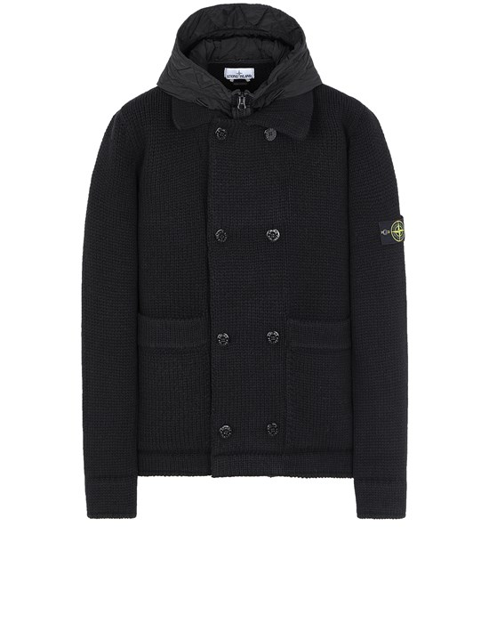 STONE ISLAND 557B8 Sweater Man Black