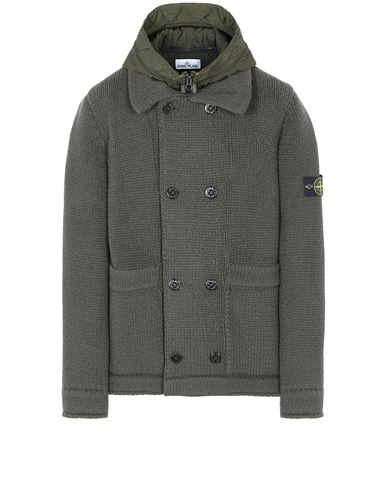 STONE ISLAND 557B8 Sweater Man Musk Green USD 1165