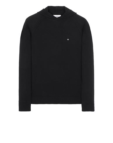 STONE ISLAND 546D3 Sweater Man Black USD 272