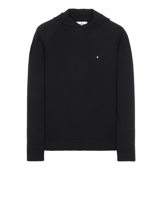 STONE ISLAND 546D3 Sweater Man Black