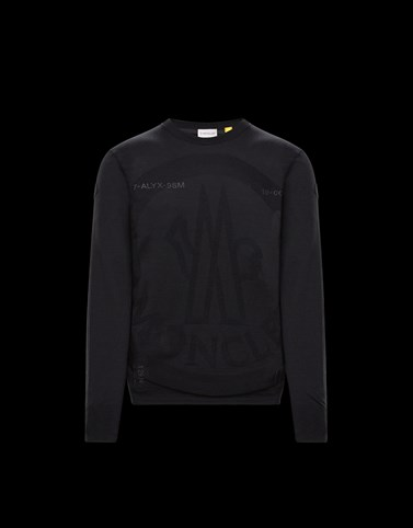 CREWNECK Black Knitwear & Sweatshirts Woman