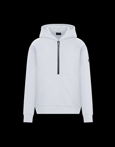 HOODED SWEATSHIRT White Category HOODED SWEATSHIRTS Man
