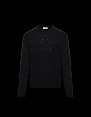 CREWNECK SWEATSHIRT Black Sweatshirts Man