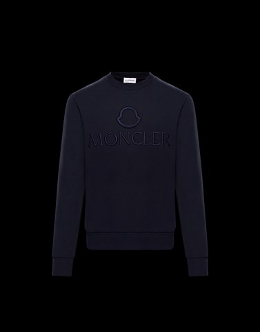 CREWNECK SWEATSHIRT Dark blue Sweatshirts Man