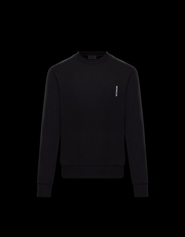 SWEATSHIRT Black Category Sweatshirts Man