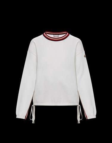 CREWNECK White Category Crewnecks Woman