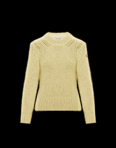CREWNECK Yellow Category Crewnecks Woman