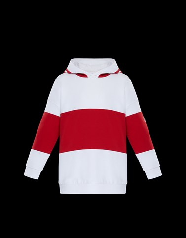 HOODED SWEATSHIRT White New in Woman