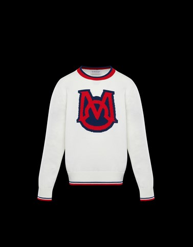 CREWNECK White Junior 8-10 Years - Boy Man