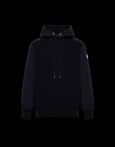 CREWNECK Dark blue Category HOODED SWEATSHIRTS Man