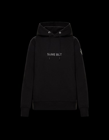 HOODED SWEATSHIRT Black Category HOODED SWEATSHIRTS Woman