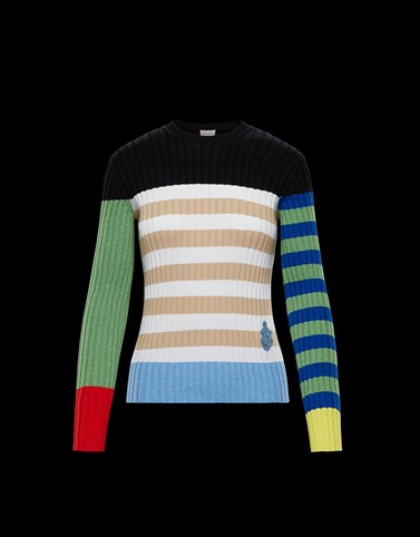 TRICOT CREW-NECK JUMPER Multicolor Knitwear Woman