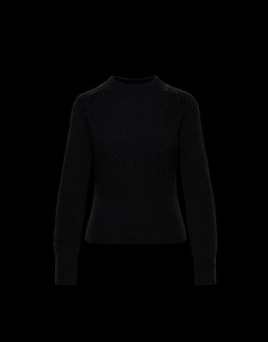 圆领 黑色 针织衫及抓绒衫 女士