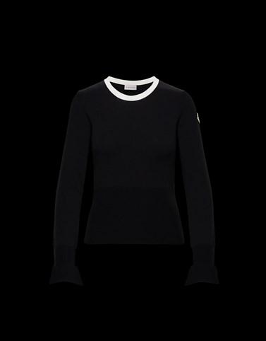 GIROCOLLO Colore Nero Categoria Maglie a Girocollo Donna