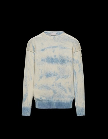CREWNECK Sky blue Category Crewnecks Man