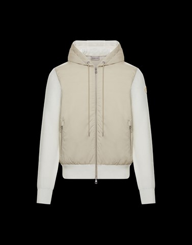 CARDIGAN White Category Lined jumpers Man