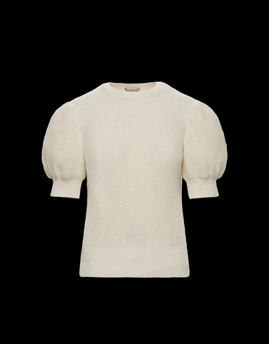 CREWNECK Ivory Category Crewnecks Woman