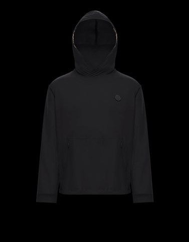 ESCALLE Black Category Windbreakers Man