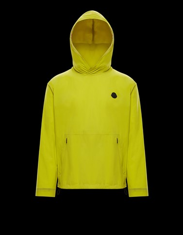 ESCALLE Colore Giallo Categoria Windbreaker Uomo