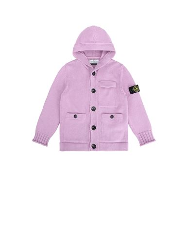 STONE ISLAND KIDS 511A5 Sweater Man Pink Quartz USD 505