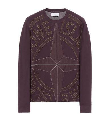 STONE ISLAND 514D1 Sweater Man Dark Burgundy EUR 495