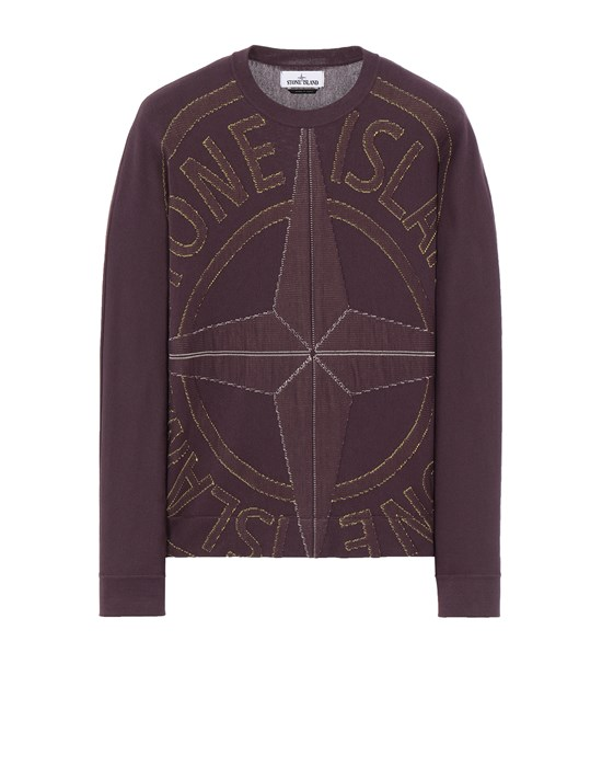STONE ISLAND 514D1 Sweater Man Dark Burgundy