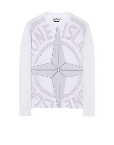 STONE ISLAND 514D1 Sweater Man White USD 735