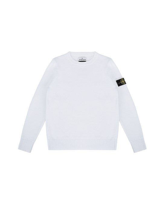Sweater Herr 512A5 Front STONE ISLAND JUNIOR
