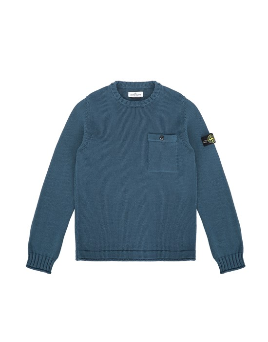 Sweater Man 510A5 Front STONE ISLAND TEEN