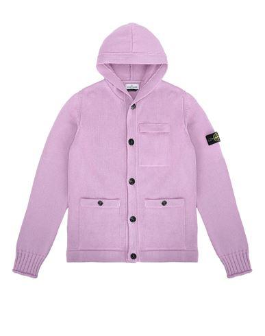 STONE ISLAND TEEN 511A5 Sweater Man Pink Quartz EUR 355