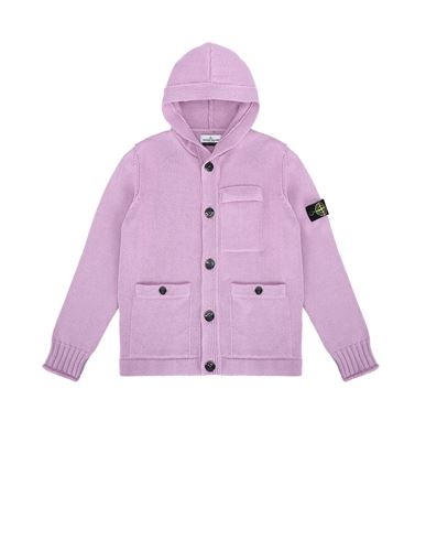 STONE ISLAND JUNIOR 511A5 Sweater Man Pink Quartz EUR 544