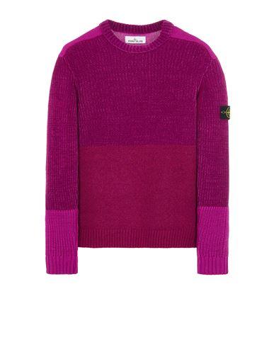 STONE ISLAND 538B9 MIXED YARNS  Sweater Man Magenta EUR 399