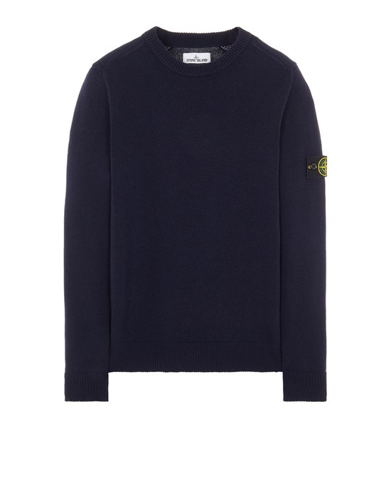 Sweater Man 535A3 LAMBSWOOL Front STONE ISLAND