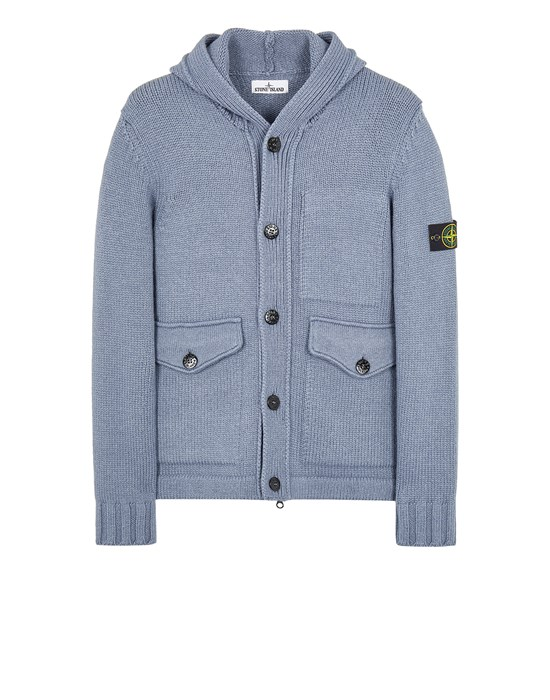 Sweater Man 558B2 WOOL-SILK Front STONE ISLAND