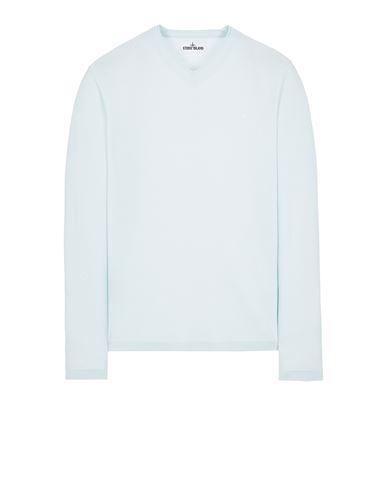 STONE ISLAND 549C4 LIGHT PURE WOOL Sweater Man Light Green EUR 279