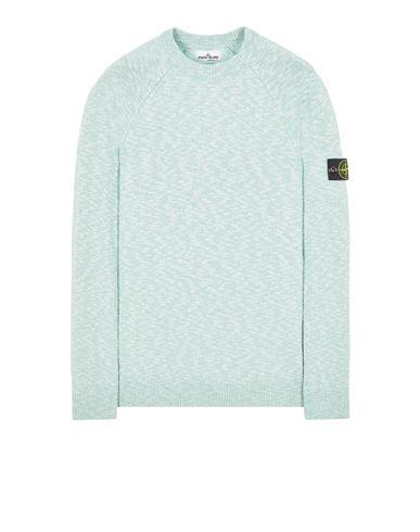 STONE ISLAND 510D3 COTTON WOOL MÉLANGE Sweater Man Light Green EUR 279