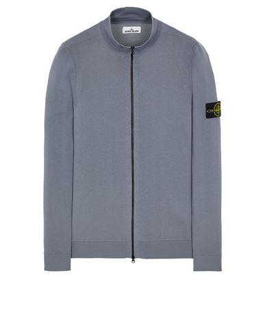 STONE ISLAND 520C4 LIGHT PURE WOOL Sweater Man Pastel Blue EUR 325