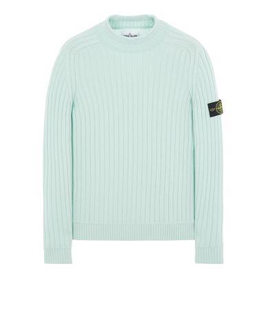 STONE ISLAND 537B6 LANA GEELONG Sweater Man Light Green EUR 359