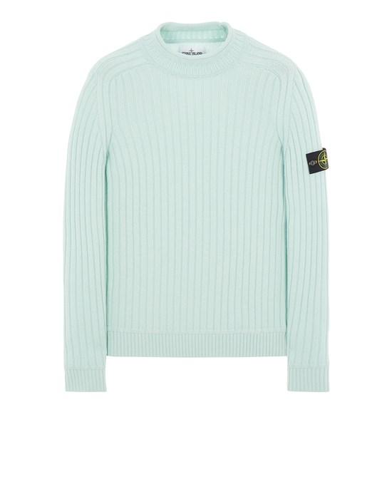 Sweater Herr 537B6 GEELONG WOOL Front STONE ISLAND