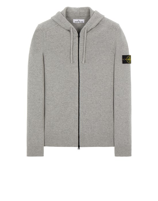 Sweater Man 546A3 LAMBSWOOL Front STONE ISLAND