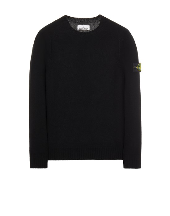 Sweater Herr 505A3 LAMBSWOOL Front STONE ISLAND