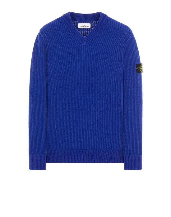 Sweater Man 554A5 COTTON CHENILLE Front STONE ISLAND