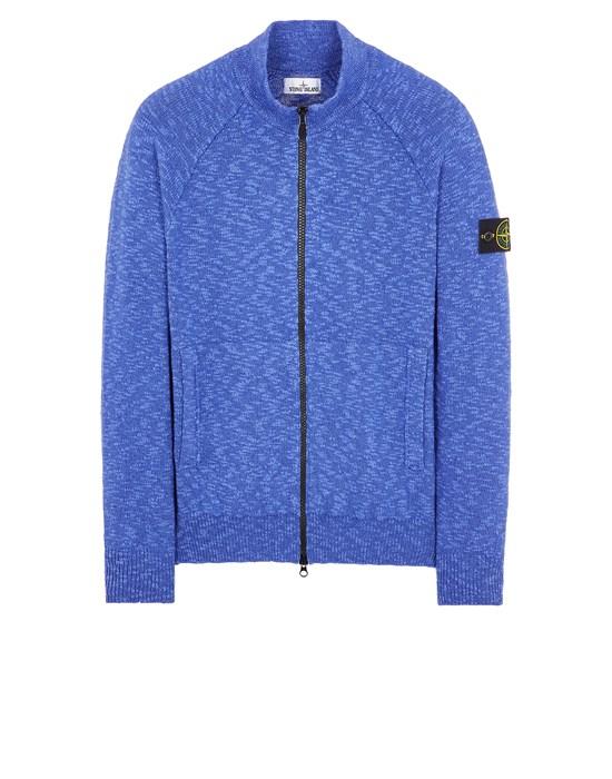 Sweater Man 536D3 COTTON WOOL MÉLANGE Front STONE ISLAND