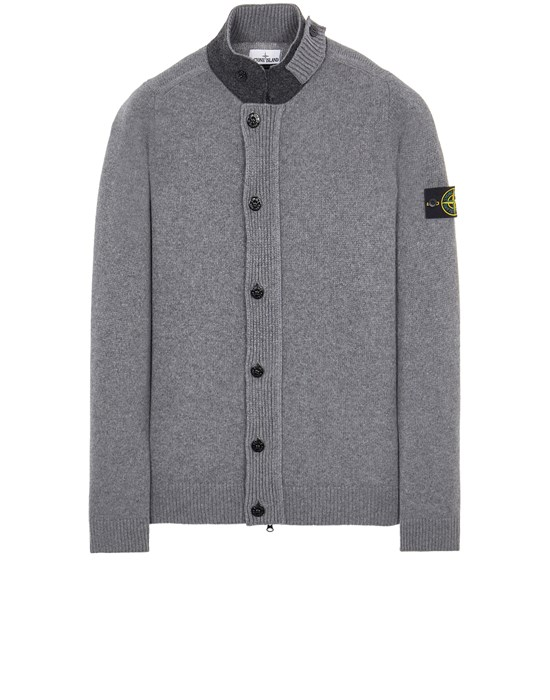 Sweater Man 547A3 LAMBSWOOL Front STONE ISLAND