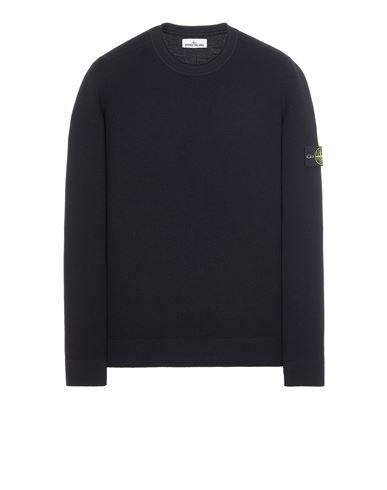 STONE ISLAND 560C2 FULL RIB PURE WOOL  Sweater Man Blue EUR 295